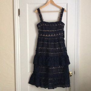 Lulu's Lace Party Dress NWT